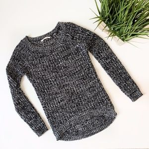 Bluenotes Round Neck Knit Sweater Salt & Pepper